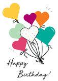 Verjaardagskaart ballonnen_