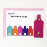 Nieuw huis kaart_